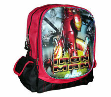 """Backpack 15"""" Multi-Compartment Avengers IRON MAN Red Black NWT"""