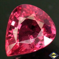 1.15CT SENSATIONAL TOP UNHEATED PEAR PINKISH RED RUBY