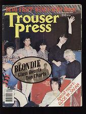TROUSER PRESS 42/1979 BLONDIE MOON MARTIN DEVO FRIPP JOHN CALE ROCK IN JAPAN