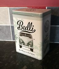 VOLKSWAGEN SPLIT SCREEN CAMPER RECTANGULAR Storage TIN Cookie BISCUITS Box