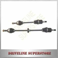 A PAIR OF NEW CV JOINT DRIVE SHAFTS FOR FORD FESTIVA 1.5L WF MANU 1998-2001