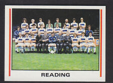 Panini - Football 81 - # 450 Reading Team Group