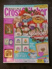 CROSS STITCHER MAGAZINE # 166 CHRISTMAS CARDS ARCHIE FLORAL HEAVENLY ANGEL