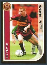 PANINI SCOTTISH PREMIER LEAGUE 2003- #331-MOTHERWELL-STEPHEN PEARSON IN ACTION
