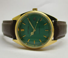 VINTAGE MEN'S CITIZEN AUTOMATIC WITH DATE WRIST WATCH IN NICE CONDITION