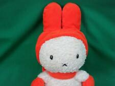 HELLO SEKIGUCHI MIFFY MIFFY PLUSH STUFFED ANIMAL TOY SOFT ORANGE WHITE