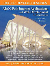 AJAX, Rich Internet Applications, and Web Development for Programmers by Deitel