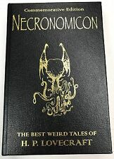 Necronomicon Best Weird Tales Of HP Lovecraft Leatherbound Commemorative Edition