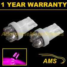 2X W5W T10 501 XENON PINK 7 DOME LED INTERIOR COURTESY LIGHT BULBS HID IL100401