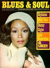Freda Payne Blues & Soul Issue 109 1973   Al Green   Billy Paul   Bunny Sigler