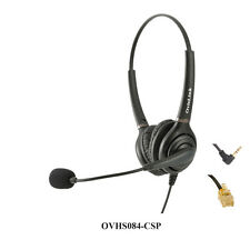 Cisco IP phones Dual Ear Call Center Headset with Noise Canceling, QD Cords