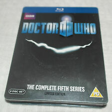 Bluray Doctor Who - The Complete Series 5 (Limited Edition Steelbook) [Blu-ray]