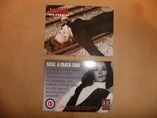 La TV Avengers pietra angolare all'interno Trader PROMO CARD it7 Diana Rigg Emma Peel
