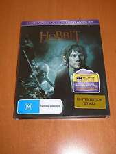 THE HOBBIT : AN UNEXPECTED JOURNEY STEELBOOK ( 2-DISC BLU-RAY + 1-DISC DVD )