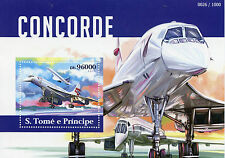 Sao Tome & Principe 2015 MNH Concorde 1v S/S Aviation Planes Airplanes Stamps