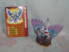 Skylanders Giants  Flashwing Figure with Card - Purple Dragon