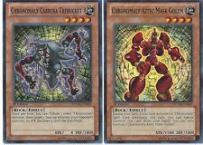 Chronomaly 50 Card Lot - Crystal Chrononaut - Gordian Knot + Bonus - Yugioh