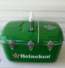 RARE Heineken Beer Cooler,CD Player, Am/Fm Radio Coolbox Great Christmas gift