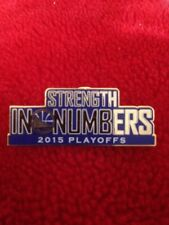 2015 NBA Playoffs Round 1 Golden State Warriors Lapel Pin (Champs Curry Mvp Ua)