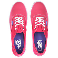 Vans Authentic Lo Pro (Pop) Rose Red/Purple Iris-Women's Sk8 Shoe Size 7.5 NWB