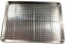 Checkered Chef Cooling Rack - Baking Rack. Stainless Steel Oven and Dishwasher