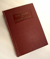 Book of Knowledge Volume 3 Hardcover 1949 Children's Encyclopedia