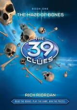 39 Clues #1: Maze of Bones by Rick Riordan c2008 Hardcover, We Combine Shipping