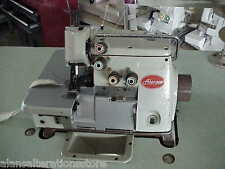BROTHER INDUSTRIAL SEWING MACHINE 3 or 4  THREAD OVERLOCKER with light