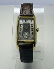 Hamilton Retro Classic Art Deco Man's Wristwatch 1938 Brooke Registered Edition