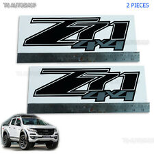 Fit Chevrolet Chevy Holden Colorado 2006-2017 Z71 4x4 Sticker Black Silver Decal
