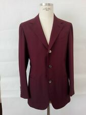 St SAINT ANDREWS HAND MADE in ITALY Jacket man 100 % SILK  it 50 uk 40 us M