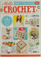 Mollie Makes Crochet Patterns Gift Ideas Techniques Summer 2015 FREE SHIPPING JB