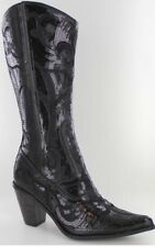 Helens Heart Beautiful Black Sequin And Embroidery Bling Boot! Sizes 5,6,7,8,9