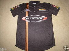 Cindy Romero Multistack Racing NHRA Jersey Shirt womens M medium