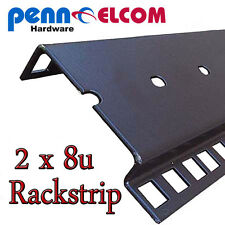 8U DOUBLE rackstrip, striscia di dati, i server rack flightcase STRISCIA