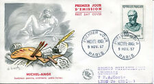 FRANCE FDC - 223 1133 1 MICHEL ANGE 9 11 1957