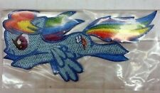 My Little Pony Rainbow Dash Flying Mlp Tv Embroidered Iron / Sew / Glue On Patch
