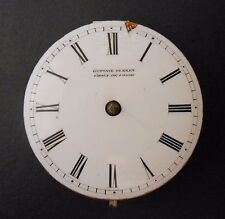 Gustave Perret Lever Fusee Pocket Watch Movement 1850s Architect Le Corbusier