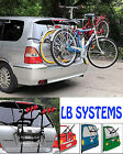 3 BICYCLE CARRIER CAR RACK BIKE CYCLE UNIVERSAL FITS MOST CARS REAR MOUNT