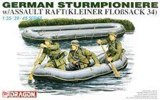 DRAGON 6076 1/35 German Sturmpioniers w/Assault Raft