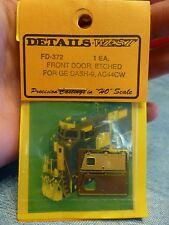 Details West HO #372 Etched Front Door/For GE Dash 8/9