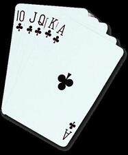 Tarjetas De Póker Calidad Profesional Noche Casino jugando a las cartas