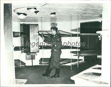 1939 WWII Underground Barracks Germany's West Wall Original News Service Photo