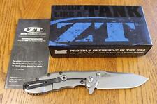 KAI Zero Tolerance ZT 0562 Hinderer Slicer Folding Knife ELMAX Titanium & BONUS!