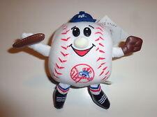 "New York Yankees 6.5"" Soft Plush Stuffed Baseball Guy With Glove, Cap, and Bat"