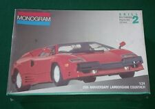 Lamborghini Countach 25th Anniversary 1/24 plastic model kit MONOGRAM USA