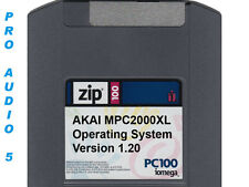 Akai MPC2000XL Operating System Version 1.20 ZIP DISK + FREE SAMPLES