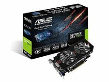 Asus GeForce GTX 750 Ti OC Graphics Card, 2GB GDDR5, VGA, 2 x DVI-D, HDMI