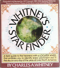 Whitney's Star Finder by Charles A. Whitney (1977, Paperback, Revised, Knopf)