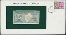 (10) DIFFERENT BANKNOTES OF ALL NATIONS PAHV361